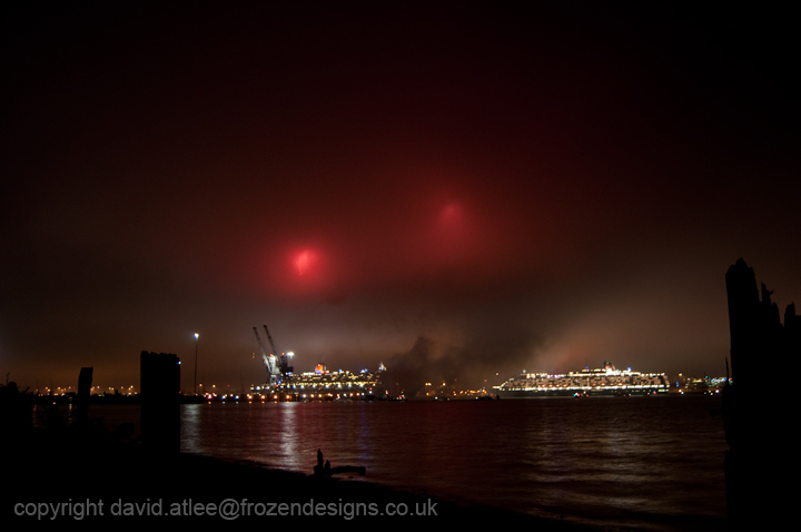 The Devil over Southampton